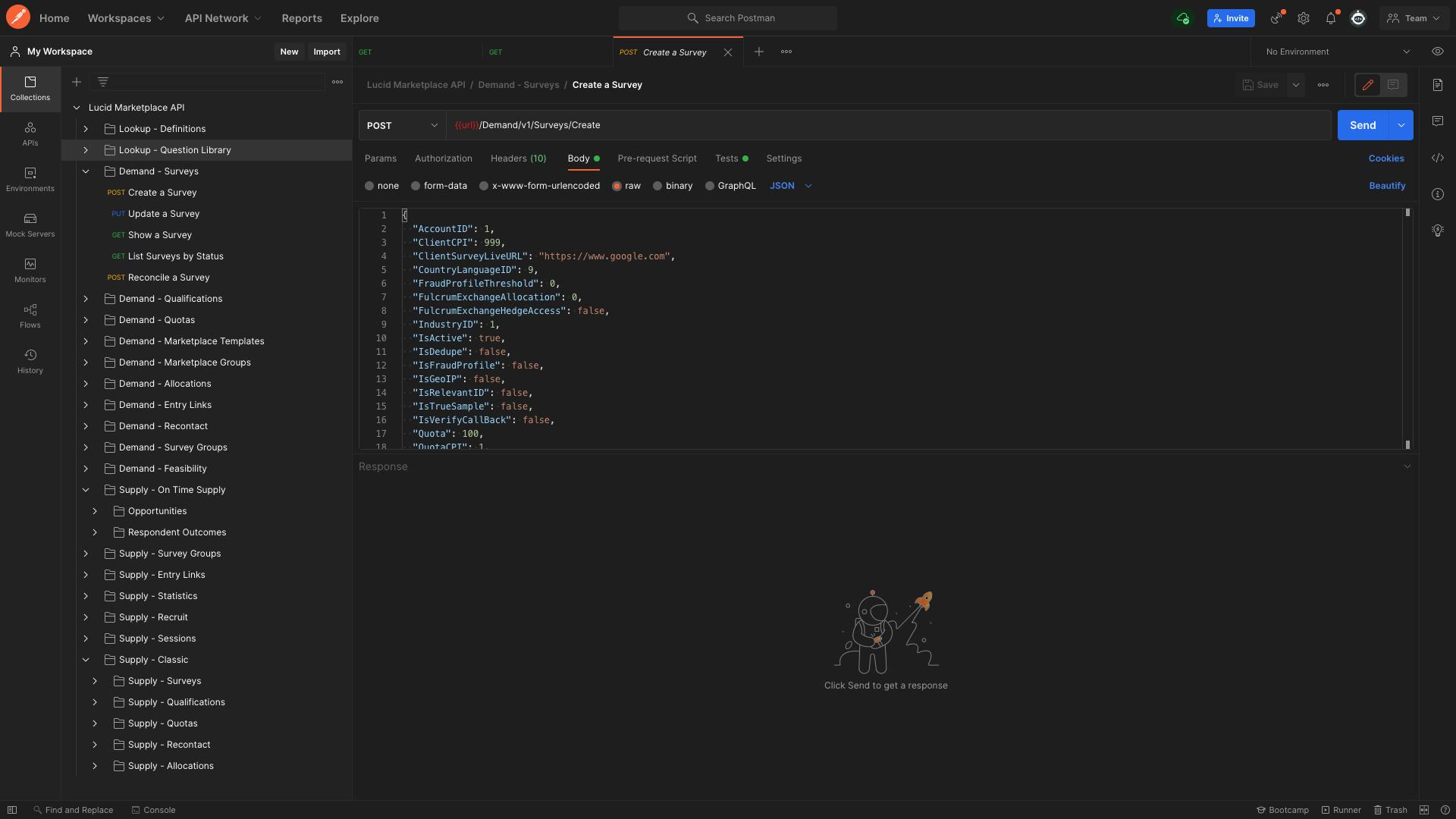 Marketplace API Documentation